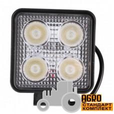 Фара дополнительная LED 20 W (4x5W CREE), 2800 Lm, квадратная